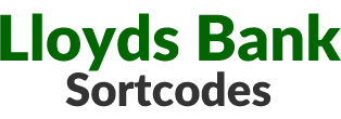 Lloyds Sort Codes